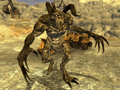 Fallout New Vegas Game Guide Deathclaw