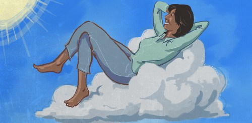 Why floating on cloud 9