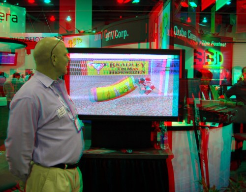 Autostereoscopic TV (in 3D)
