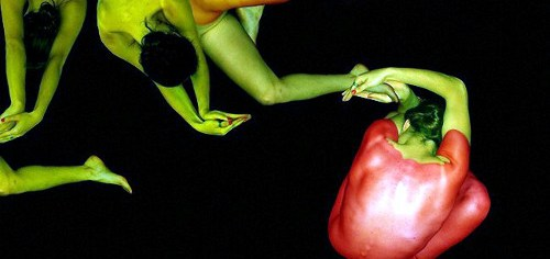Naked Human Art - Human Peppers