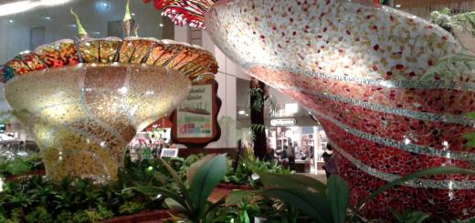 Travel Indonesia Blog: Singapore Airport Enchanted Garden