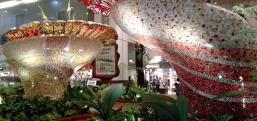 Travel Indonesia Blog: Singapore Airport Enchanted Garden
