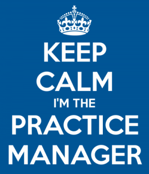 Recruiting a practice manager