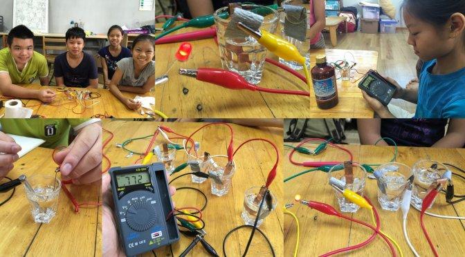 สอนวิทย์มัธยม 1: คลิปฝึกสมอง และทดลองสร้างแบตเตอรี่กัน