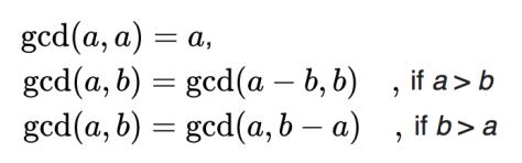 จาก https://en.wikipedia.org/wiki/Greatest_common_divisor#Using_Euclid's_algorithm