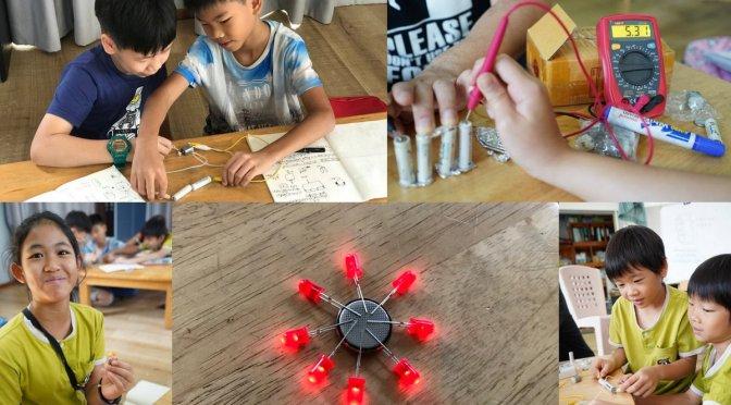 ต่อแบตเตอรี่แบบอนุกรมและขนาน เล่นกับ LED และมอเตอร์