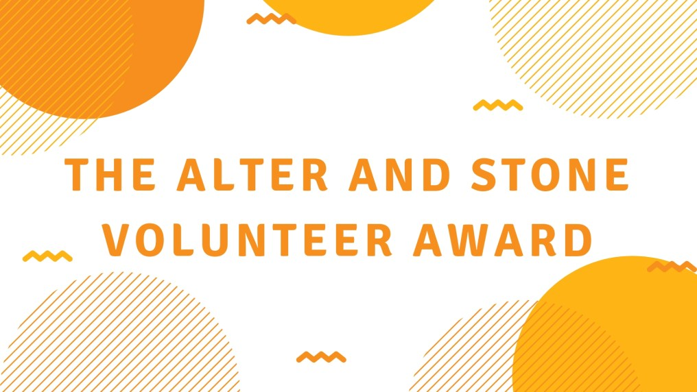 Alter and Stone Volunteer Award