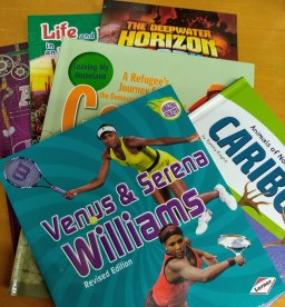 encouraging a child to read nonfiction