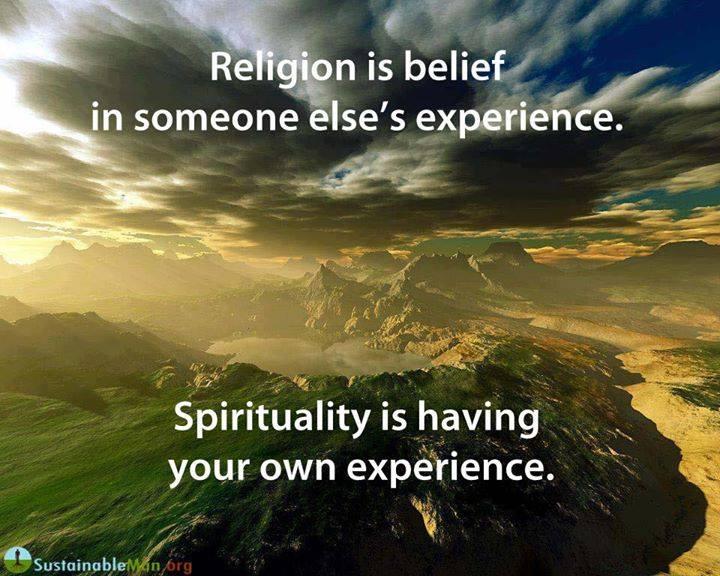 Religion Vs Spirituality  Emerging