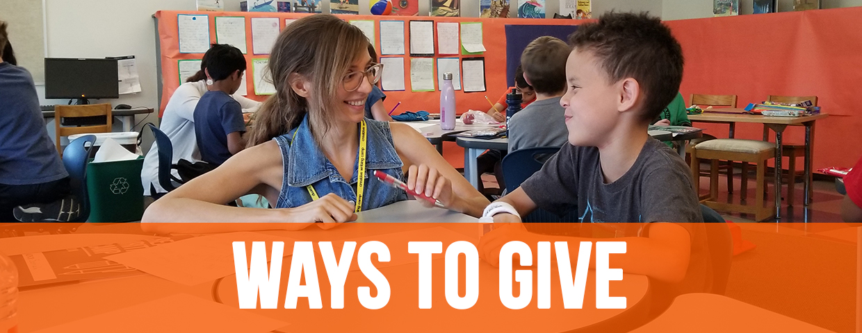 Ways to Give to WITS