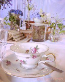 Witt Hochzeit Sammeltassen Deko