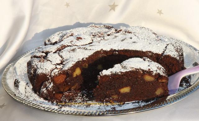 Saftiger Schokoladen Apfelkuchen Cami S Magic World