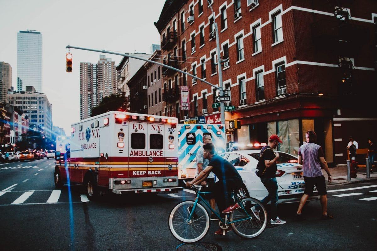 Queen Injury Lawyer Ambulance