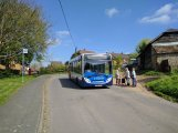 An Enviro 200 on Stagecoach's beautiful, low frequency route 16 from Basingstoke to Steventon