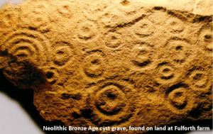 Bronze age cyst grave