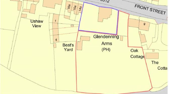 Planning Application: New homes behind The Glendenning