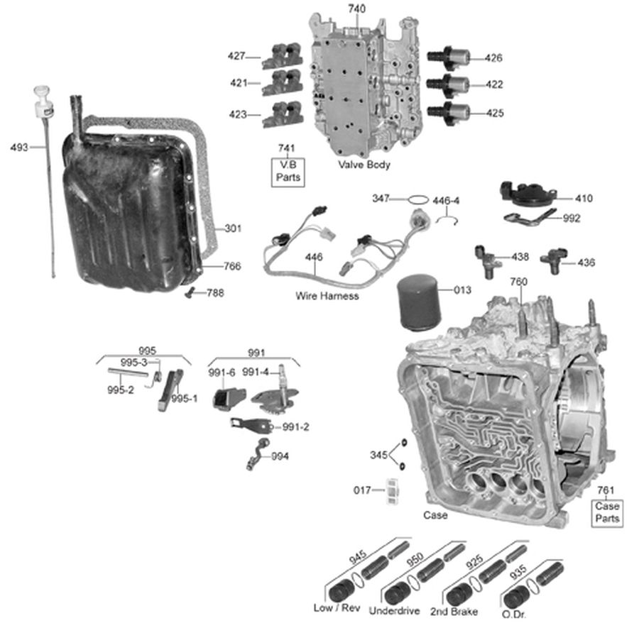hight resolution of whatever it takes transmission partsf4a41 wiring diagram 13