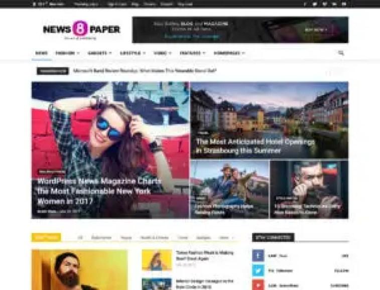 Newspaper - One of the Best Premium Wordpress Theme