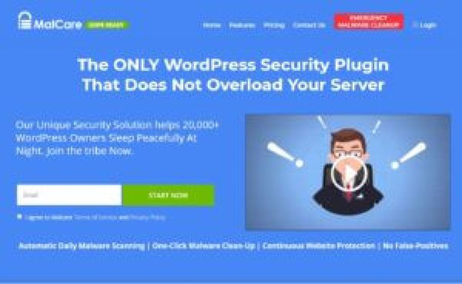 MalCare - One of the Best WordPress Security Plugins