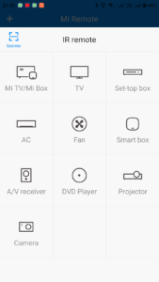 Use Mi Remote to Control Appliances with Mi Mobiles