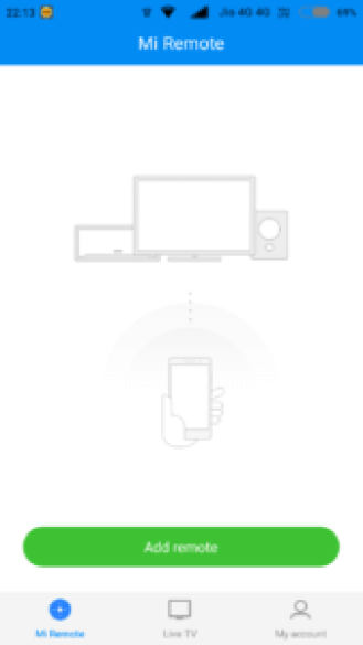 Use Mi Remote to Control Appliances with Mi Mobiles