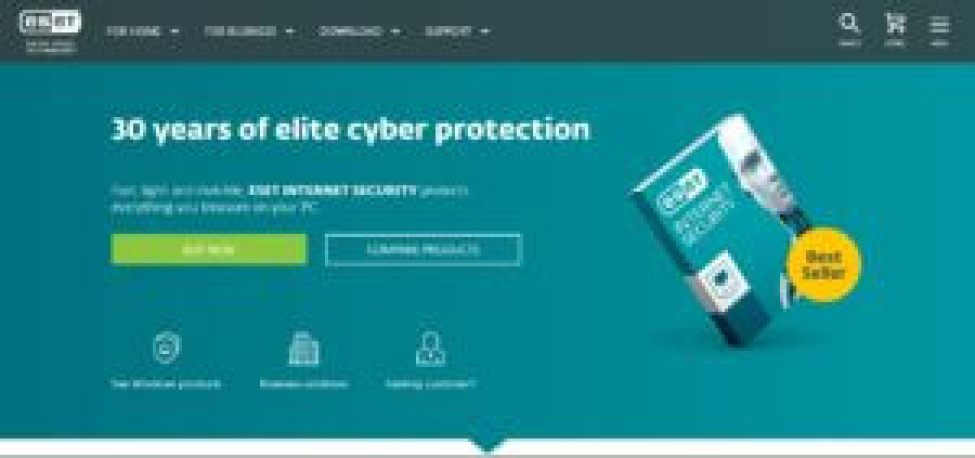 One of the Best Antivirus - ESET