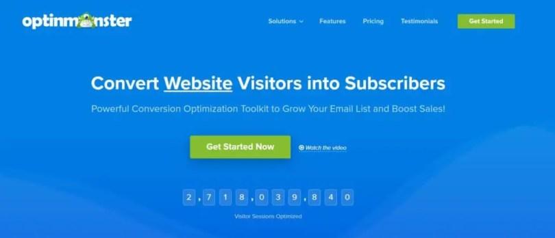 OptinMonster - One of the Best WordPress Popup Plugins