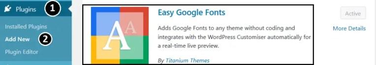 Installing Plugin to Change Font In Gutenberg Editor