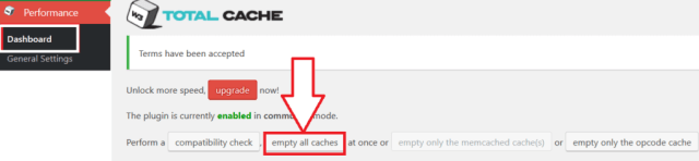 How To Clear WordPress Cache Using W3 Total Cache