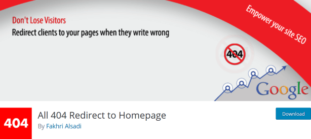 All 404 Redirect 404 Page To Homepage