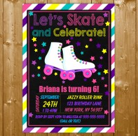Skating Party Invitations | Shilohmidwifery.com