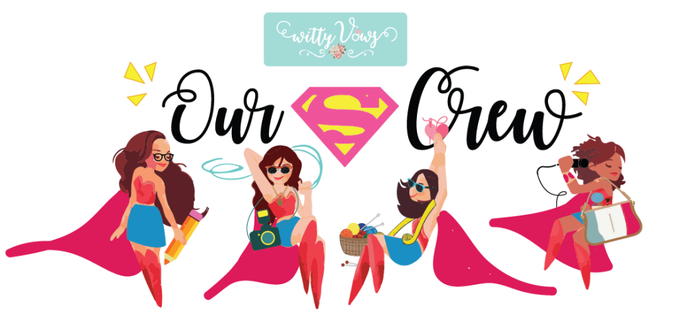 The team at WittyVows, Girl power, female superhero