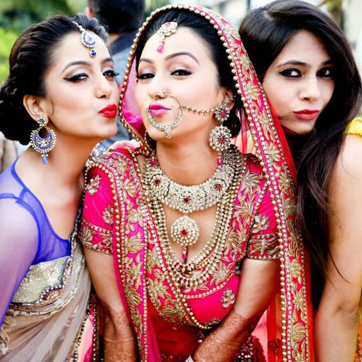 Selfie bride surviving the baraat witty vows