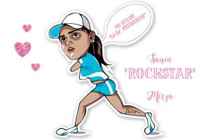 Sania Mirza proves she's a rockstar! Witty Vows