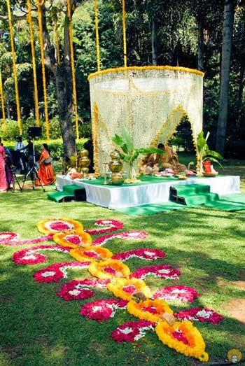 South Indian Decor ideas to steal - Witty Vows