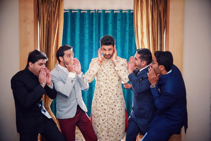 pictures every indian groom must have with his friends from the wedding   When your boss are girls   Curated by Witty Vows