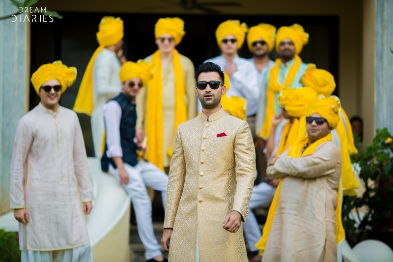 pictures every indian groom must have with his friends from the wedding   Curated by Witty Vows
