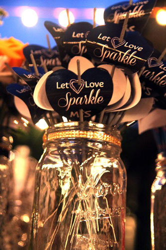 sparklers for the Indian couple | Diwali party entertainment ideas | curated by Witty Vows