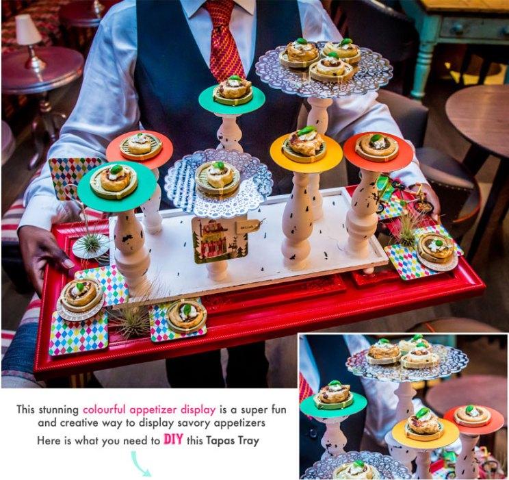 How to DIY Tappas appetizer trend in Indian wedding | Food presentation and styling ideas | DIY idea by Rakhee Jain OTT