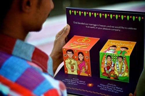 Unique Indian wedding invitation card ideas