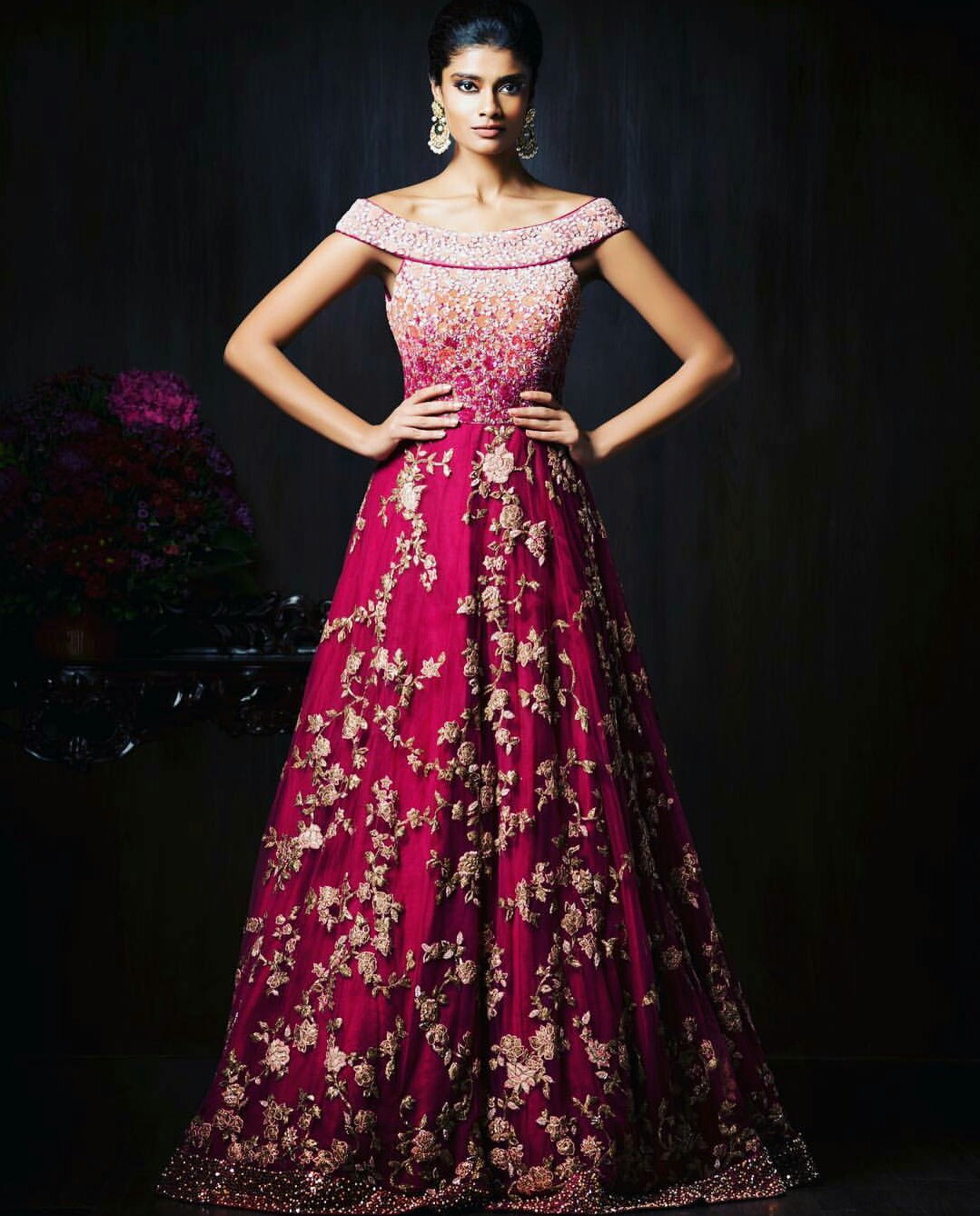 wedding reception dress for bride gorgeous new indian reception gown styles for indian brides 9894