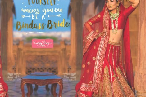 Bride quote for chiller bindass indian brides. Pretty picture for indian bride wallpaper  Photography Credits Wedding Nama