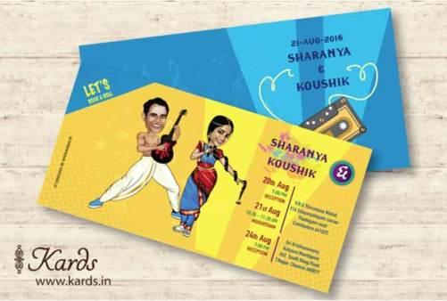 Unique Indian wedding invitation card ideas   Cards.in