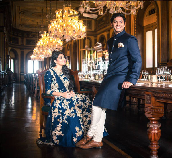 Sania Mirza's sister anam ties the knot | dreamy hyderabad nawab style pre wedding shoot | curated by witty Vows