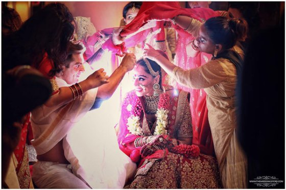 Top Indian Celebrity Weddings 2016 | Stunning wedding ideas from Bipasha Basu and Karan Singh Grover's wedding | Bipasha Basu's Wedding ceremony | Bengali wedding | white and red jaimala