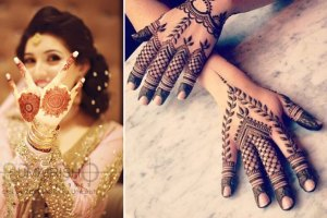 Reasons to try try the new henna designs of minimal back of the hand mehendi at your best friend's wedding