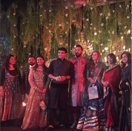 Yuvraj Singh's Wedding reception & Sangeet in Delhi | With Saurav Ganguly and family