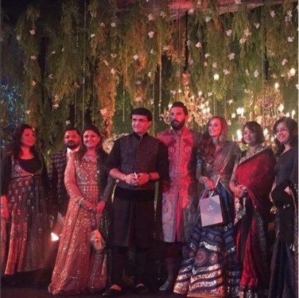 Yuvraj Singh's Wedding reception & Sangeet in Delhi | With Saurav Ganguly and family