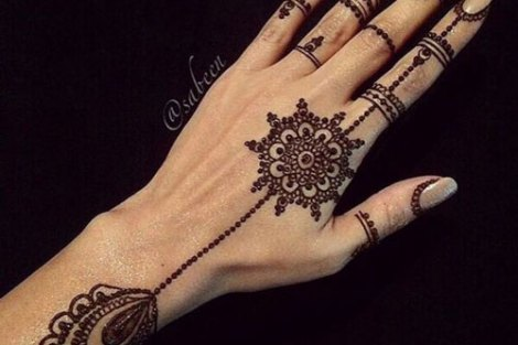 trending minimal new bridal mehndi design ideas for this wedding season | New jewellery design henna ideas