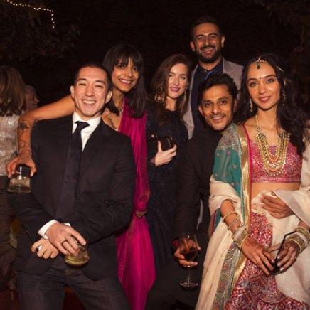 New Indian wedding ideas from VJ Yudi and Aditis Pretty Wedding | Yudishthar and juhi with friends